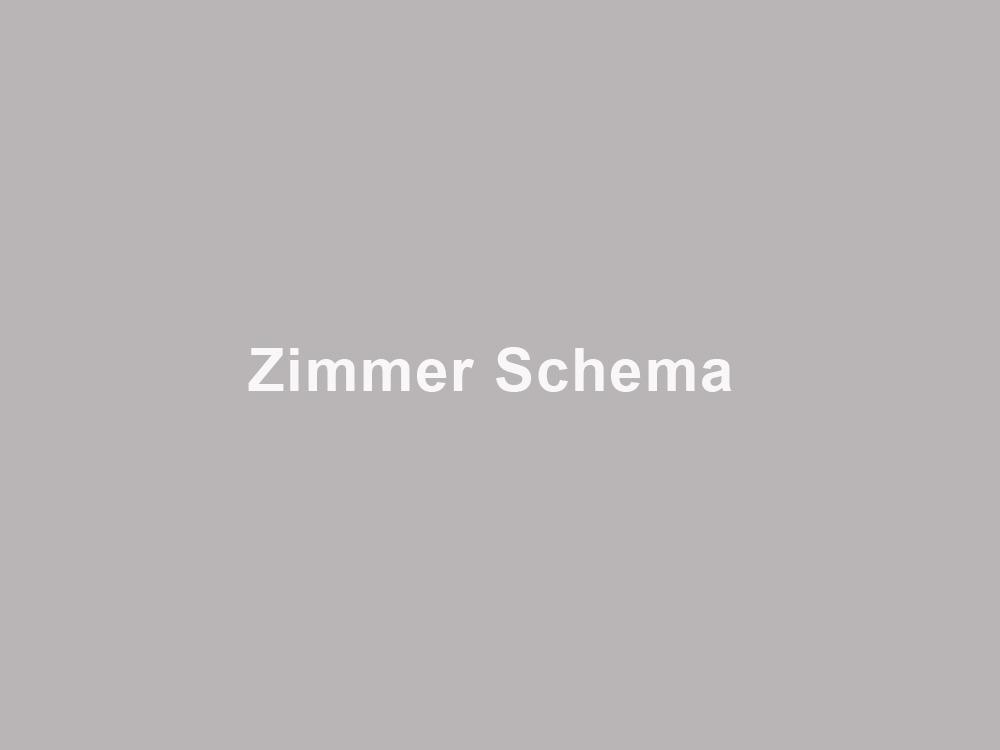 Zimmer Schema